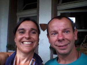 Tommy und Heike Balkon